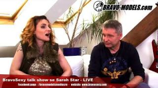BravoSexy talk show 2018 se Sarah Star host - Radek - fotograf