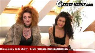 BravoSexy talk show 07/2017 se Sarah Star host ELYS MONTILLA